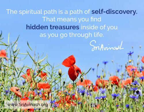 hidden treasures quote magnet - Sri Avinash