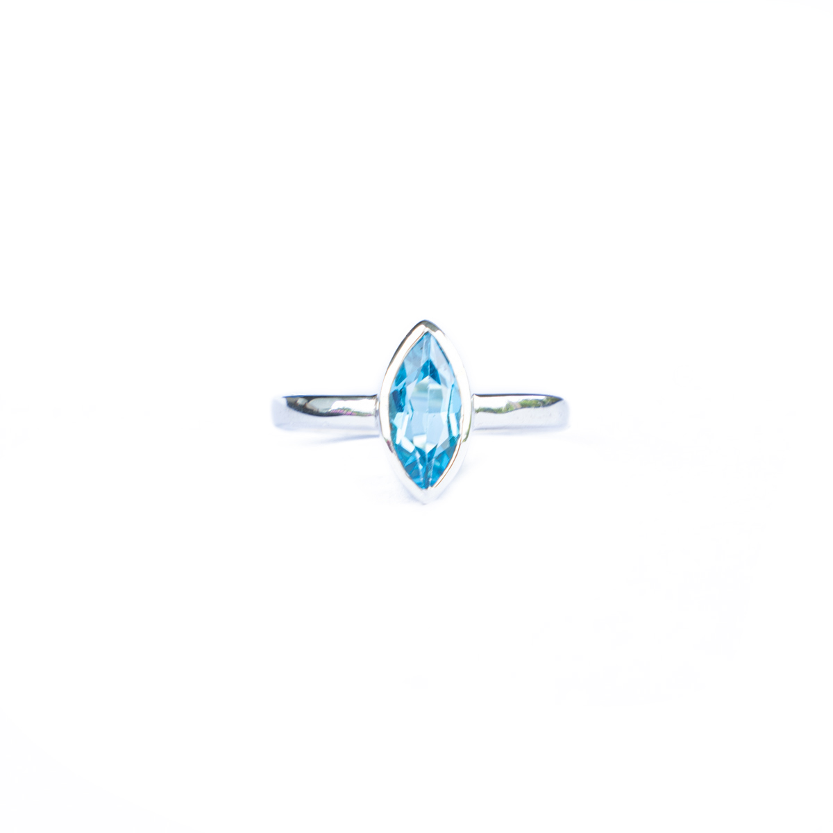 Sri Avinash Infused™ 2.4cts Topaz Ring in Sterling Silver - Divine Spirit & Protection Infusion
