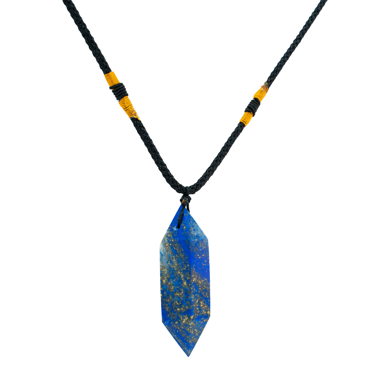 Sri Avinash Blessed™ Lapis Lazuli Pendulum Necklace