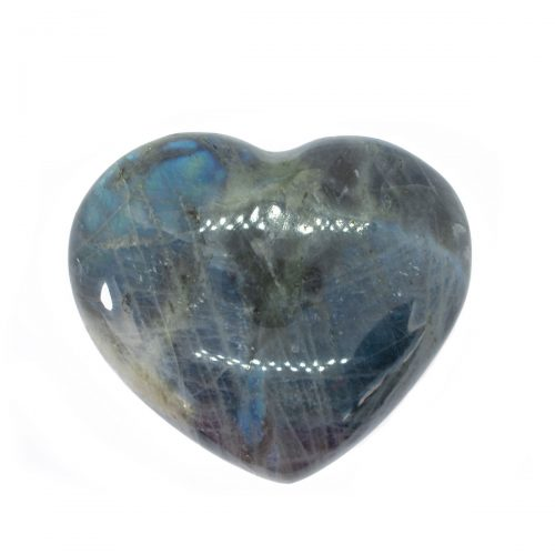Sri Avinash Infused™ Labradorite Crystal Heart - Divine Blessings Infusion
