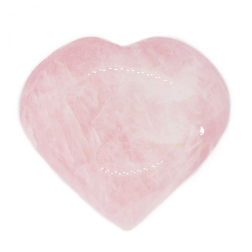 Sri Avinash Infused™ Rose Quartz Crystal Heart - Divine Spirit & Protection Infusion