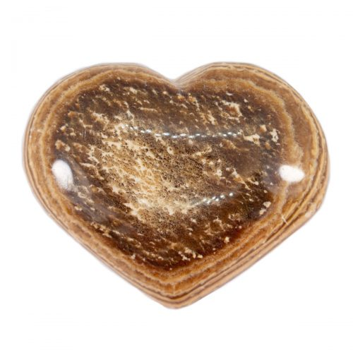 Sri Avinash Infused™ Aragonite Crystal Heart - Lightness & Joy Infusion
