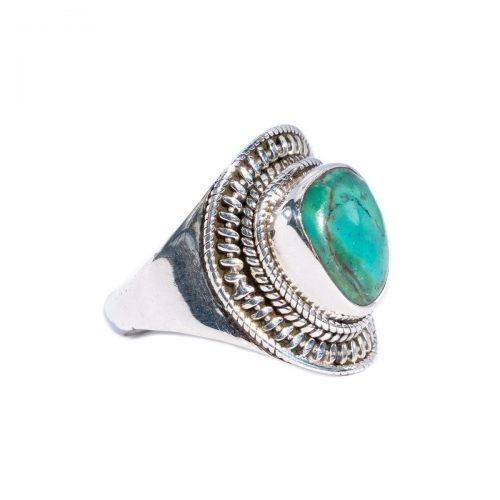 Sri Avinash Infused™ Opaline Ring in Sterling Silver - Lightness & Joy Infusion