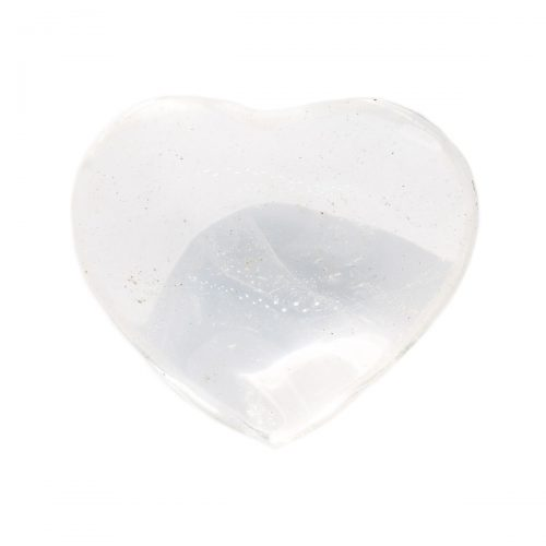 Sri Avinash Infused™ Clear Quartz Heart - Creative Power Infusion