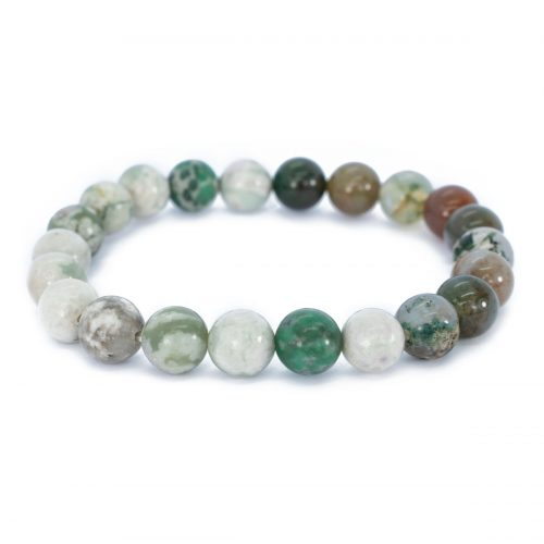 Sri Avinash Blessed™ Lucky Jasper & Indian Agate Mala Bracelet