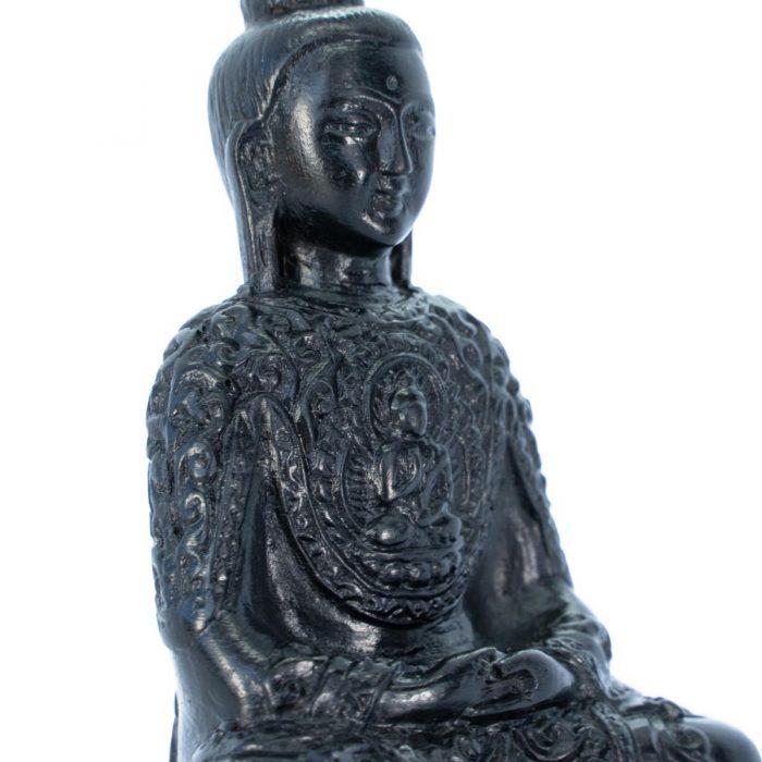 Sri Avinash Infused™ Resin Buddha Statue - Divine Spirit & Protection Infusion
