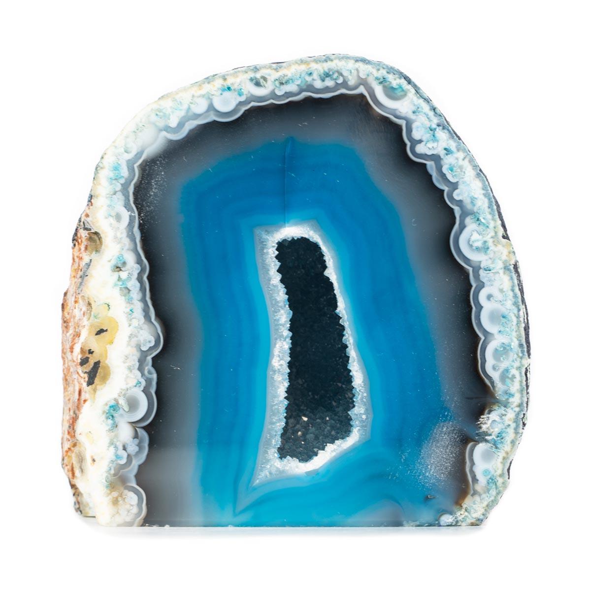 Sri Avinash Infused™ Blue Agate Cave - Love & Compassion Infusion