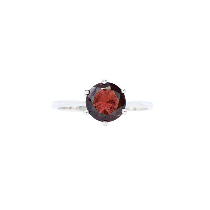 Sri Avinash Infused™ Garnet Ring - Divine Blessings Infusion