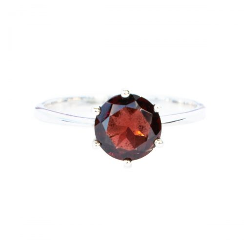 Sri Avinash Infused™ Garnet Ring - Divine Blessings Infusion
