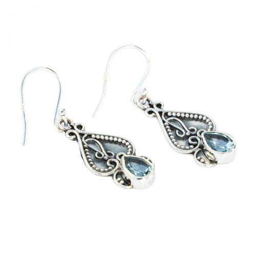 Sri Avinash Infused™ Topaz Earrings - Love & Compassion Infusion